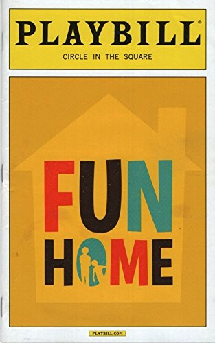 Playbill, Circle in the Square: Fun Home, May 2015 (Michael Cerveris, Judy Kuhn)