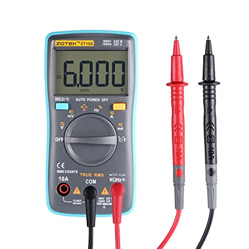 Multimeter LESHP Auto Ranging Capacitance Temperature