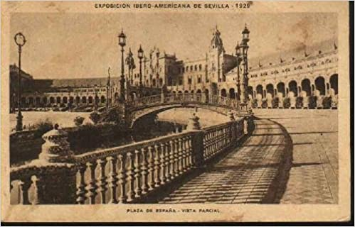 Postal Antigua - Old Postcard : Exposición Ibero - Americana de Sevilla 1929. Plaza de España - Vista parcial: Amazon.es: Sin autor: Libros