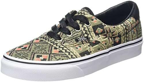 Vans Era 59 Men Round Toe Canvas Multi Color Skate Shoe
