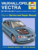 Vauxhall/Opel Vectra Service and Repair Manual: March 1999 to May 2002 (Haynes Service and Repair Manuals)