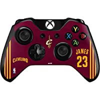 NBA Cleveland Cavaliers Xbox One Controller Skin - LeBron James #23 Cleveland Cavaliers Away Jersey Vinyl Decal Skin For Your Xbox One Controller