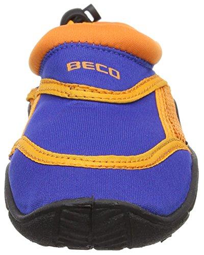 Beco Niños Surf y easyfeet Azul - azul/naranja
