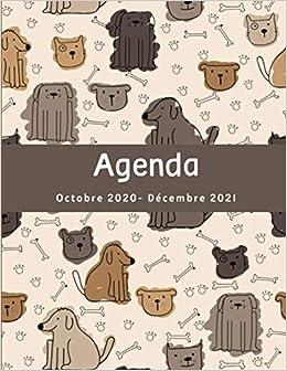 Agenda Octobre 2020  Décembre 2021: Cadeau Pour les Amoureux des