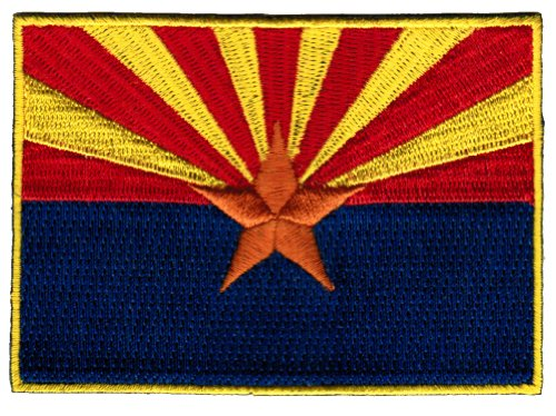 ARIZONA STATE FLAG embroidered iron-on PATCH EMBLEM new APPL