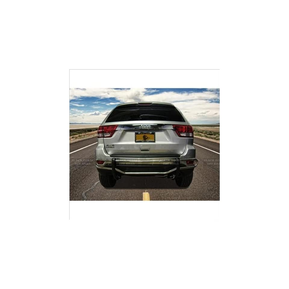 Black Horse Stainless Steel Bumper Guard 05 10 Jeep Grand Cherokee