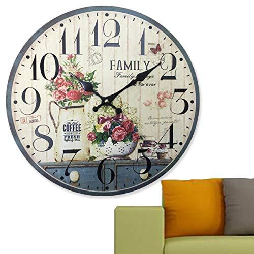 9f5e421bd8f Vintage clock design le meilleur prix dans Amazon SaveMoney.es