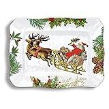 Michel Design Works SWPL274 Melamine Serving Platter, Christmas Joy
