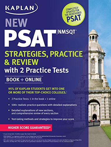 Kaplan New PSAT/NMSQT Strategies, Practice and Review with 2 Practice Tests: Book + Online (Kaplan Test - Ca Hawthorne Mall