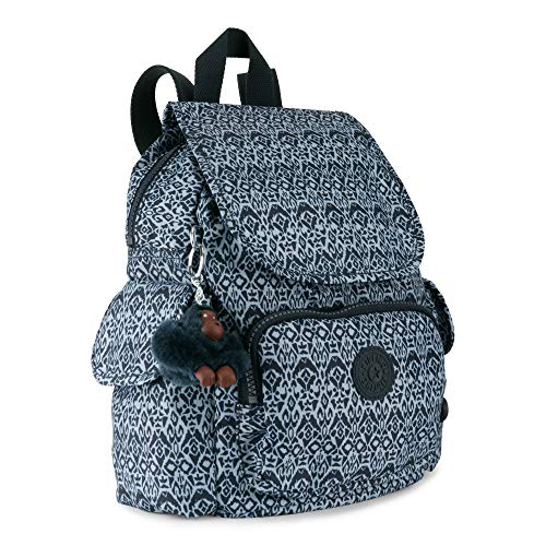 One Geometric Bliss Small City Pack Women's Backpack Kipling Size Printed Extra Z0Onpx