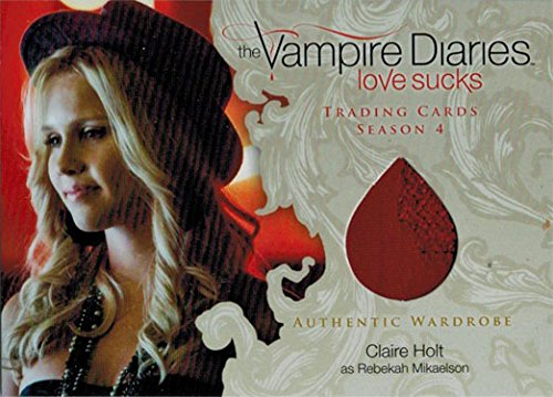 Diaries Rebekah Costume Vampire (Vampire Diaries Season 4 Costume Wardrobe Card M21 Claire Holt as)