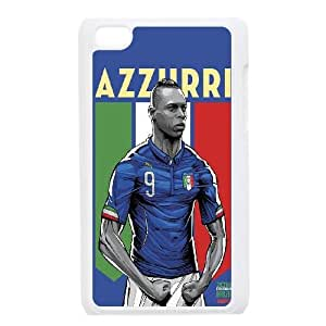 iPod Touch 4 Case White WorldCup Italy U3W1LU