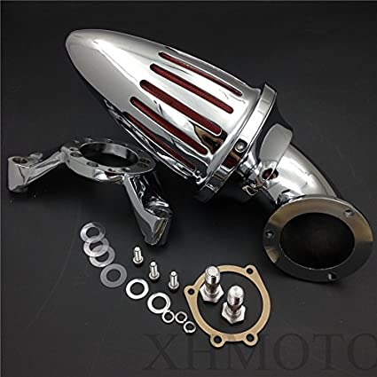 Amazon com: Bullet Air Cleaner Intake Kits For Harley Cv