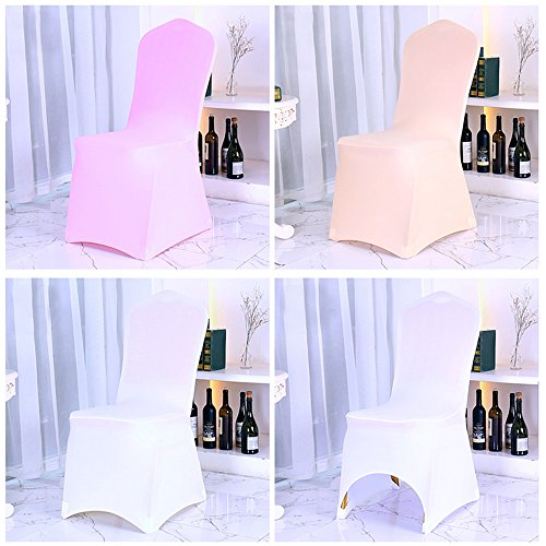 Set Of 100pcs Chair Covers Loisleila Polyester Spandex
