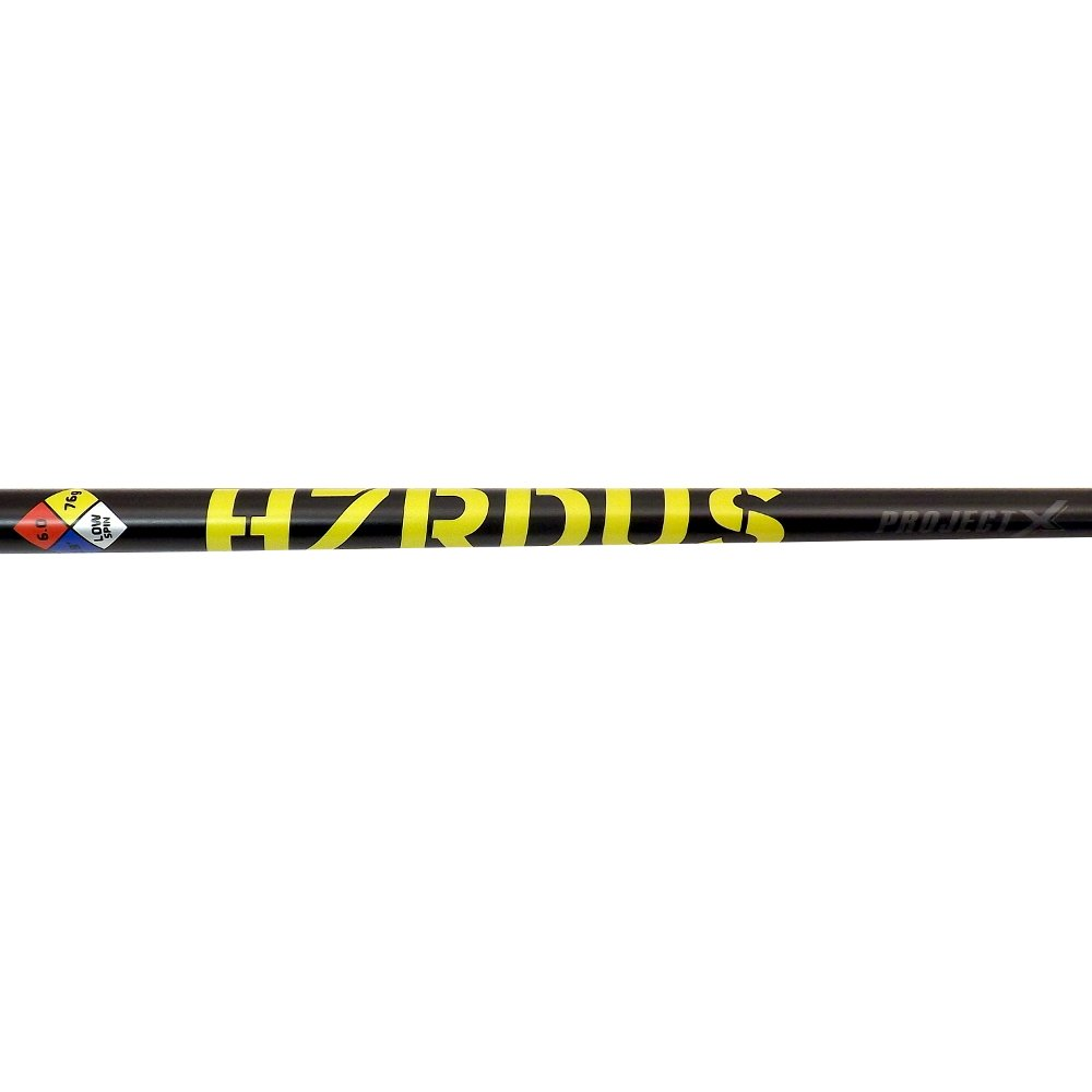NEW Project X Golf HZRDUS Yellow 6.0 Driver Shaft 76 grams Regular