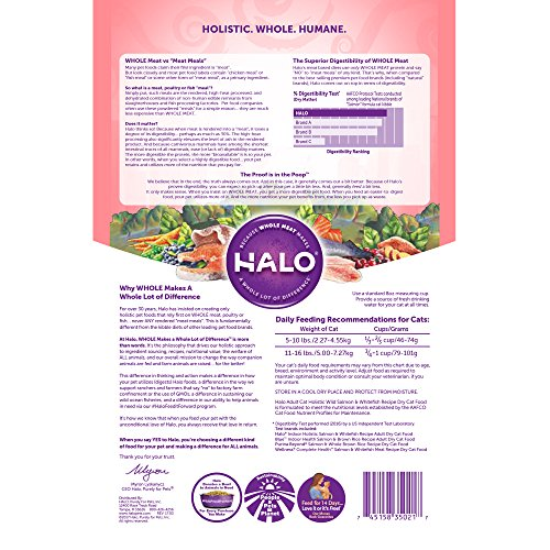 Halo-Holistic-Dry-Cat-Food-Wild-Salmon-and-Whitefish-6-LB-Bag-of-Natural-Cat-Food