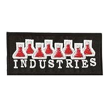 Patche écusson thermocollant Industries chimiques