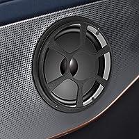 30,5 cm Colore: Nero X AUTOHAUX Griglia Protettiva in Metallo per subwoofer 2 Pezzi