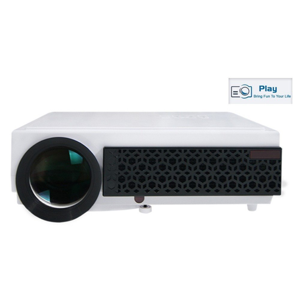 PLAY™ Full HD LED Corded Portable Projector with 5500lm