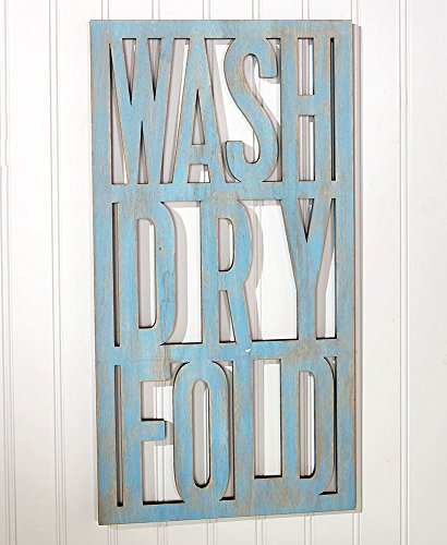 Vintage-Inspired Laundry Room Accent Cutout - Cut Out Inspired