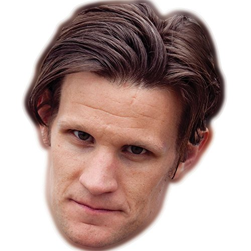 Matt Smith Celebrity Mask, Card Face and Fancy