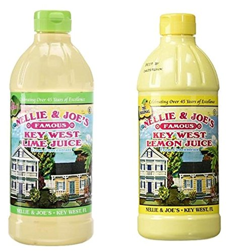 Nellie & Joes Famous Key West Lemon & Lime Juice 16oz TWIN - Key West Shopping