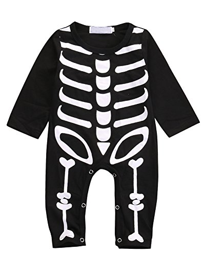 Dara Miwad Newborn Baby Boy Girls Romper Bodysuit Infant Kids Halloween Costume Jumpsuit Outfits (6-12 Months, (Baby Halloween Costumes For Babies)