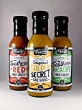 Melvin's Barbecue 3 pack Sampler Barbecue Sauce