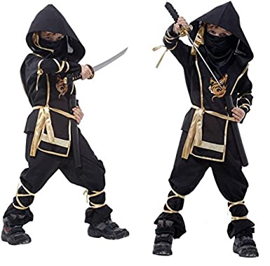 Carnaval Guerrero Ninja Samurai el Viajero Disfraz infantil ...