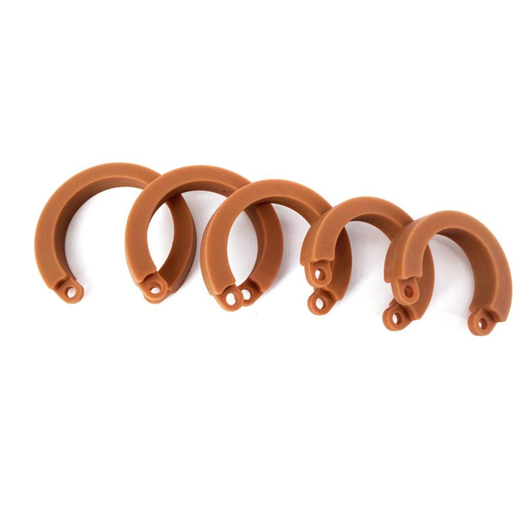 Cinturones de Silicone castidad Sex Toys Silicone de Cock Cage, Jaula para el pene, Hombre Fetish restringido 13 (Tamaño : Sección larga) 5d07ef
