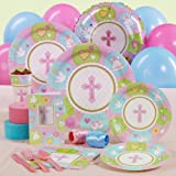 Sweet Blessing Pink Baby Shower Standard Party Pack for 8 guests