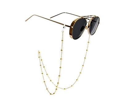 Fashion Jewelry Kalevel Beaded Glasses Holder Strap Eyeglass Chain Cord Sunglass Neck Strap Eyeglass Chains & Holders