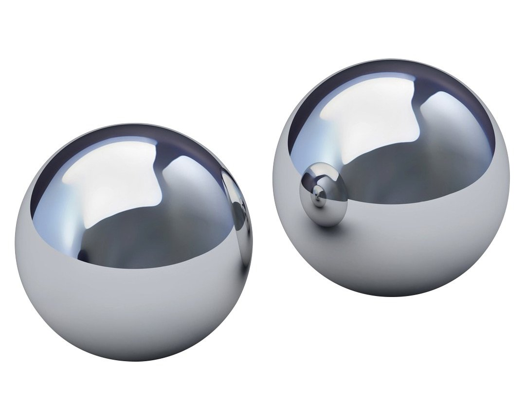 Two 2'' Inch Chrome Steel Bearing Balls G25