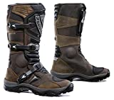 Forma FOADVBN45  Adventure Off-Road Motorcycle Boots (Brown, Size 11 US/Size 45 Euro)