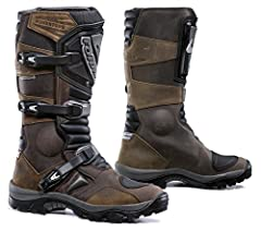 Outer: Full-grain oil treated leather upper. Specific adventure/enduro/atv-quad double density compound rubber sole. Injection molded plastic protections. Plastic gear pad protection. Adjustable Velcro closure. Replaceable/adjustable GH plast...