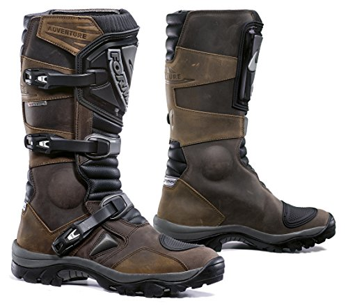 Forma FOADVBN45  Adventure Off-Road Motorcycle Boots (Brown, Size 11 US/Size 45 (Adventure Pegs)