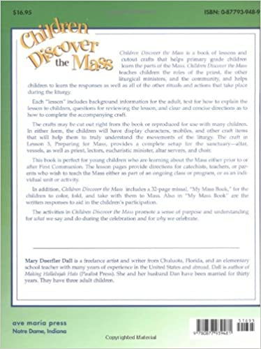 Children Discover the Mass: Lessons, Crafts, Cutouts, and More ...