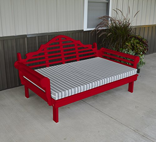ASPEN TREE INTERIORS Classic Lutyens Daybed - A Gorgeous Furniture Piece for Inside Your Home or Outside Porch, Lanai or Veranda - Your Family Will Love IT - 9 Color - Furniture Lutyens Garden