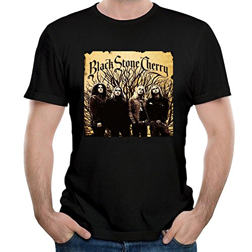 Black Seven Stone Seven Cher sevenry Tree Short Sleeve Tees Large ()