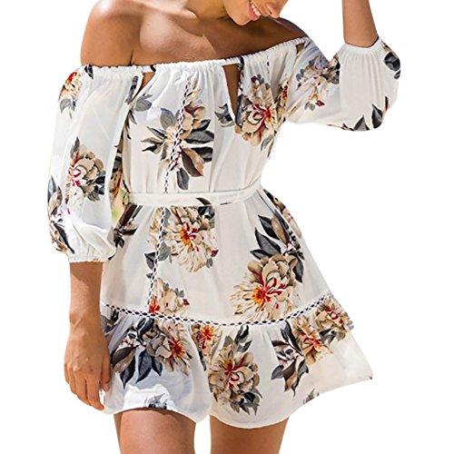 iShine falda larga mujer faldas cortas con 3 estilos chic - kreation ... 33ab28a9988be
