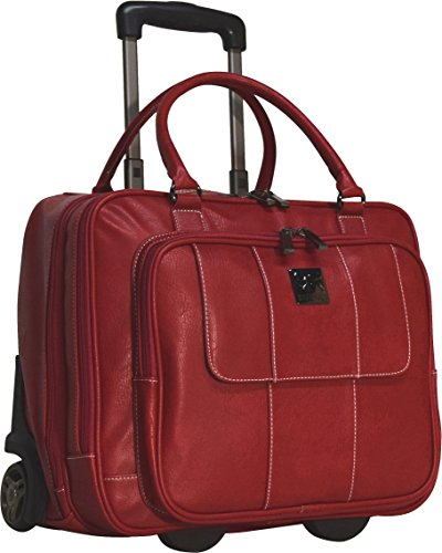 Kenneth Cole Reaction Casual Fling Computer Overnighter (Red)