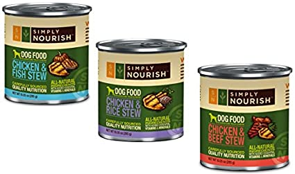 simply nourish canned dog food