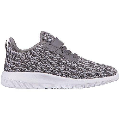 7da69dfddba6b9 Kappa UnisexKinder Gizeh Kids Sneaker Grau 1614 Grey l´grey - liv ...