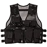Modern Warrior Junior Tactical Vest - Fits 50-125lbs - Airsoft & Paintball Accessory