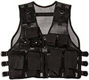 Modern Warrior Junior Tactical Vest - Fits 50-125lbs - Airsoft & Paintball Acces