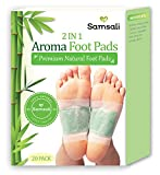 Best Foot Detoxes - Samsali Foot Pads, Upgraded 2 in 1 Nature Review