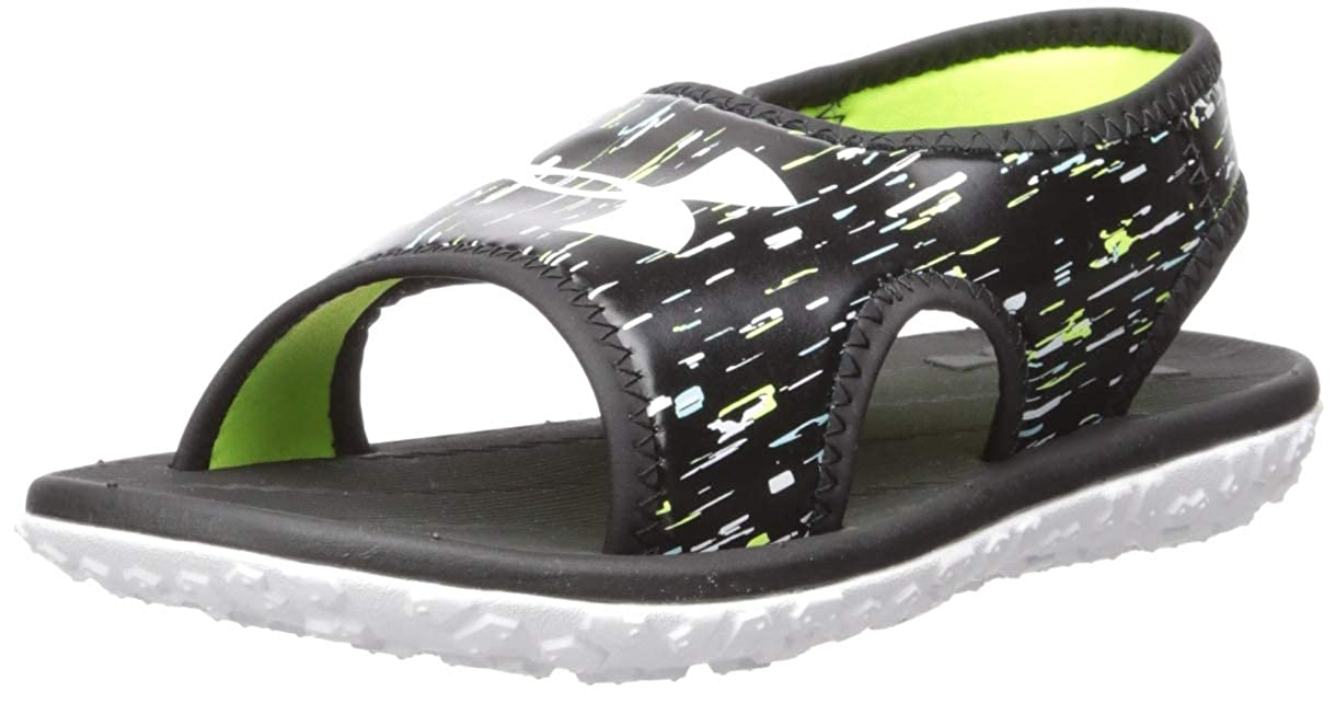 Under Armour Womens Pre School Fat Tire Iii Slide Sandal