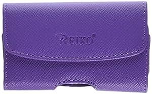 Reiko Horizontal para Blackberry 8300 - morado