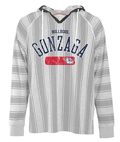 NCAA Gonzaga Bulldogs Men's Long Sleeved Pullover Hoodie, Medium, Charcoal Oxford