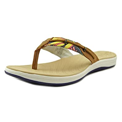 0dd8b8cf666f Sperry Top Sider Seabrook Surf Women US 7 Multi Color Thong Sandal